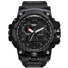นาฬิกาแบรนด์เนม Smael นาฬิกาผู้ชายกีฬานาฬิกาคู่แสดงอนาล็อกดิจิตอลนาฬิกาควอตซ์อิเล็กทรอนิกส์กันน้ำว่ายน้ำนาฬิกา - นานาชาติ By Wemwatch Store.