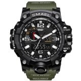 ขาย Smael นาฬิกา 1545 จอแสดงผล Dual นาฬิกาทหารนาฬิกาควอตซ์นาฬิกาผู้ชายกันกระแทกกีฬานาฬิกาดิจิตอลนาฬิกา Relogio ออนไลน์ จีน