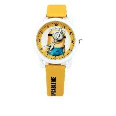 ขาย ซื้อ สีเหลืองขนาดเล็กเด็กชายหญิงกันน้ำควอตซ์นาฬิกาเข็มขัดนักเรียนน่ารักการ์ตูนเด็กตาราง นานาชาติ ใน จีน