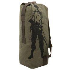 ซื้อ Smart Bag ถุงทะเลผ้าแคนวาส รุ่น C4 017 สีเขียวทหารใบใหญ่ 3 In 1 Cvm 016 Pp ใน ไทย