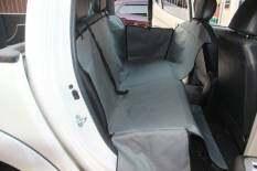 โปรโมชั่น เบาะคลุมรถยนต์สำหรับสุนัข แผ่นรองกันเปื้อนสำหรับสุนัขในรถยนต์ แผ่นรองกันเปื้อนเบาะรถยนต์สำหรับสุนัข ผ้าคลุมสำหรับเบาะหลังรถเก๋ง รถ Suv สีเทา