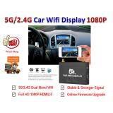อุปกรณ์ส่งภาพและเสียงจาก Smartphone เข้าจอทีวี 5G 2G Car Wifi Display Screen Mirror Airplay Mirroring Miracast Smart View 1080P Full Hd Hdmi2 รุ่น Pvt898 ถูก