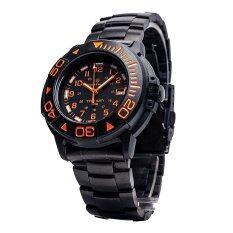 ซื้อ Smith Wesson Watch นาฬิกา Swiss Tritium H3 6 ตำแหน่ง Diver Orange กันน้ำ 200 M พร้อมสาย 2 แบบ แสตนเลสและสายยาง ออนไลน์ Thailand