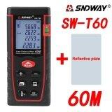 ราคา Sndway Sw T60 60M Laser Distance Meter Range Finder Measure Diastimeter Device Intl Elecool จีน