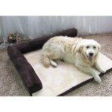 ราคา Soft Warm Orthopedic Pet Dog Memory Foam Bed Mat With Removable Cover L Intl ราคาถูกที่สุด