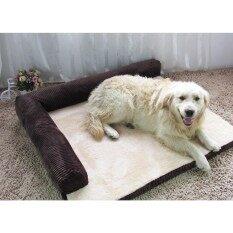 ความคิดเห็น Soft Warm Orthopedic Pet Dog Memory Foam Bed Mat With Removable Cover L Intl