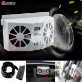 ขาย พัดลมระบายความร้อนในรถยนต์ Solar Powered Auto Car Window Air Vent Ventilator Mini Air Conditioner Cool Fan ใน กรุงเทพมหานคร