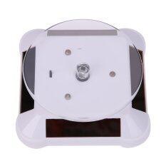 ราคา Solar Showcase 360 Turntable Rotating 038B Watch Ring Display Stand White Intl จีน