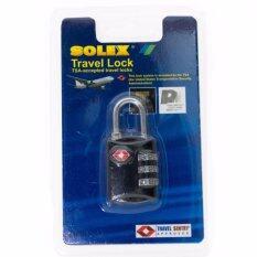 Solex กุญแจ รหัส 3 รหัส มาตรฐาน Tsa ล็อค กระเป๋า กระเป๋าเดินทาง Solex ถูก ใน กรุงเทพมหานคร