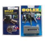 ขาย ซื้อ ออนไลน์ Solex ล็อคดิสเบรค รถจักรยานยนต์ รุ่น 9030 9025 เทา
