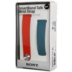 ราคา Sony Swr310 Smartband Talk Swr30 Exchangeable Wrist Strap Blue And Red Color M L Intl Sony ออนไลน์