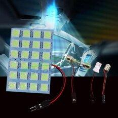 ความคิดเห็น Sooksan14 ไฟเพดานรถยนต์ สีไอซ์บลู Led Smd 5050 Icy Blue 24 ดวง
