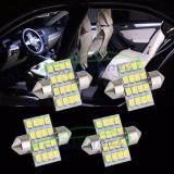 โปรโมชั่น Sooksan14ไฟเพดานรถยนต์led16Light X 4 หลอด สีขาว 31Mm กรุงเทพมหานคร
