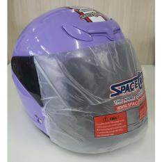 ราคา หมวกกันน็อค Space Crown รุ่น Ex Series สีม่วง Thailand