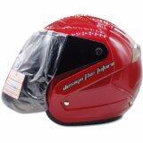 ขาย Space Crown หมวกกันน๊อค รุ่น Vision สีแดง ไทย