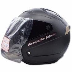 ซื้อ Space Crown หมวกกันน๊อค รุ่น Vision สีดำด้าน Thailand
