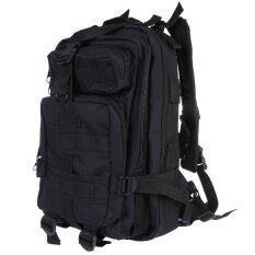 โปรโมชั่น Sport กระเป๋าเป้เดินป่า เป้สะพายหลัง 3P Backpack Bag 25L สีดำ Unbranded Generic ใหม่ล่าสุด