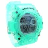 ส่วนลด Sport Watch นาฬิกาข้อมือผู้หญิง ผู้ชายและเด็กสไตล์สปอร์ต เปลี่ยนไฟดิจิตอลได้ 7 สี สายยาง ระบบ Digital Ys 001 003 Sport Watch ใน กรุงเทพมหานคร