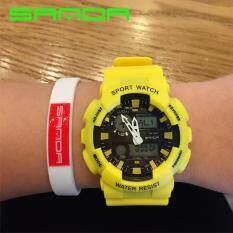 ราคา Sport Watch นาฬิกาข้อมือผู้ชาย สายเรซิ่น รุ่น กันน้ำ 899 ราคาถูกที่สุด