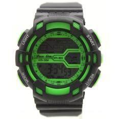 ซื้อ Sport Watch นาฬิกาข้อมือผู้หญิงและผู้ชายสไตล์สปอร์ต สายยาง ระบบ Digital Spwo 001 005