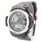 ราคา Sport Watch Samda 2 Time นาฬิกาข้อมือผู้ชาย ผู้หญิงและเด็ก สายยาง 2 ระบบ Digital และเข็ม Sm2 5 เป็นต้นฉบับ Sport Watch
