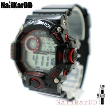 Sport Watch (Teen Sport) นาฬิกาข้อมือผู้ชาย-ผู้หญิงและเด็ก(7+) สายยาง ทรงกลม ระบบ Digital
