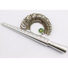 Spz ที่วัดแหวนพร้อมห่วงวัดแหวนสำหรับวัดขนาดนิ้ว  .