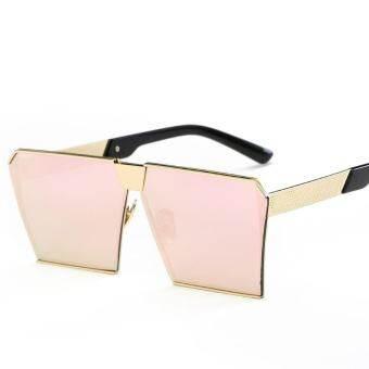 แว่นตากันแดดสีสันสดใสย้อนยุคแว่นตากันแดด - กรอบทองเชอร์รี่บลอสซั่ม