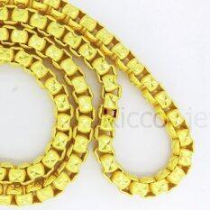 ซื้อ สร้อยคอชุบทองคำแท้งานเกรดพรีเมี่ยม หนัก 8 บาท ออนไลน์ ถูก