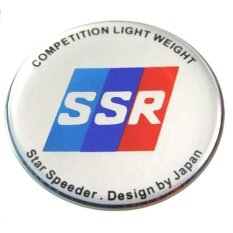 ราคา สติกเกอร์ติดดุมล้อ Ssr ขนาด 43Mm 1 ชุดมี 4 ชิ้น เป็นต้นฉบับ Sticker Racing