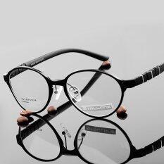ราคา Stallane Brand Designer Computer Optical Myopia Circular Frame Men Fashion Retro Cool Spectacle Glasses Black ใหม่ล่าสุด