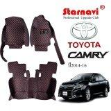 ราคา Starnavi พรมปูรถยนต์ โตโยต้า คัมรี่ Toyota Camry สีดำ 14 16 ใหม่