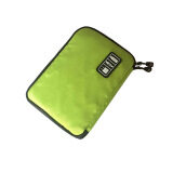ราคา Storage Organizer Bag Case Digital Usb Cable Earphone Pen Travel Insert Portable Green ถูก