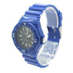 ซื้อ Submariner นาฬิกาข้อมือผู้หญิงและเด็ก สายยาง ระบบเข็ม S0016 Blue