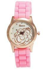 ซื้อ Sunday นาฬิกาแฟชั่นผู้หญิง สายยาง Pink ออนไลน์ ปทุมธานี