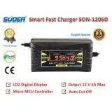 โปรโมชั่น Suoer เครื่องชาร์จแบตเตอรี่รถยนต์ Lcd Digital Display Smart Fast Charger 12 V 6 0A รุ่น Son 1206D พร้อมคู่มือการใช้งานภาษาไทย