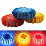 ขาย Super Bright Auto 16 Led Round Beacon Emergency Strobe Flashing Warning Lights Round Car Roof Police Light Bar Road Safety Light Intl ถูก จีน