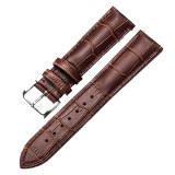ขาย ซื้อ Super Leather Watch Band Strap Popularly Women Stainless Steel Buckle Charming Intl ใน Thailand