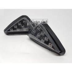 ซื้อ Super S ไฟเลี้ยวแต่ง ทรงสามเหลี่ยมเบอร์มิวด้า สีดำ ถูก ใน ไทย