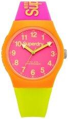ซื้อ Superdryนาฬิกาข้อมือ ผู้หญิง สีส้ม สายเรซิ่น รุ่นSyg164Mp Superdry