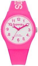ส่วนลด สินค้า Superdryนาฬิกาข้อมือ ผู้หญิง สีชมพู สายเรซิ่น รุ่นSyg164Pw