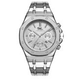 ราคา Svl Date Quartz นาฬิกาข้อมือผู้ชาย มีวันที่ กันน้ำ 100 รุ่น Gp80333 Tr Silver M แถมซองนาฬิกาสุดหรู ไทย