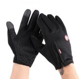 ราคา Sweatbuy 1 Pair Full Finger Touch Screen Motorcycle Winter Warm Ski Gloves Waterproof Windproof Black L Intl เป็นต้นฉบับ