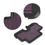 ขาย ซื้อ Sweatbuy Motorcycle High Flow Air Cleaner Intake Filter For Kawasaki Er6F Er6N 2009 2011 Intl จีน
