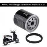 ซื้อ Sweatbuy Motorcycle Oil Filter For Piaggio 125 150 200 250 Vespa X7 X8 X9 Gt Intl