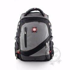 ราคา Swiss Gear Backpack Kw079 18 Gr Grey New ของแท้ 100 Warranty Leafletถูกต้องตามกฎหมาย กรุงเทพมหานคร