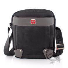 ขาย Swiss Gear กระเป๋าสะพายรุ่น Kw105 Ba Blackของแท้ 100 Warranty Leafletถูกต้องตามกฎหมาย เป็นต้นฉบับ