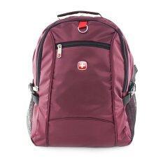 ซื้อ Swiss Gear กระเป๋าเป้ รุ่น Kw 060 18 Vi สีเปลือกมังคุด ออนไลน์ ถูก