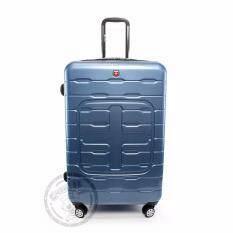 ทบทวน ที่สุด Swiss Gear กระเป๋าเดินทาง รุ่น Kw169 24 Bu Blue Pc100 ของแท้ 100 Warranty Leafletถูกต้องตามกฎหมาย