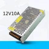 ซื้อ Switching Power Supply สวิตชิ่งเพาเวอร์ซัพพลาย 12V 10A 120W สีเงิน ใหม่ล่าสุด
